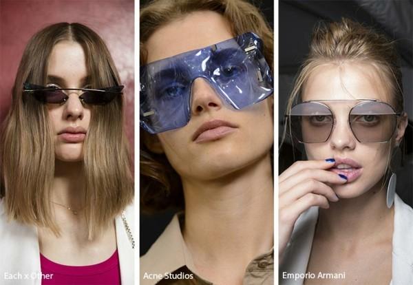 Designer Sonnenbrillen Trends Frühling Sommer 2019 auffällige Designer Modelle