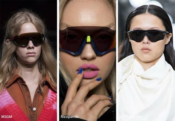 Designer Sonnenbrillen Trends Frühling Sommer 2019 sportliche Sonnenbrillen Modellen