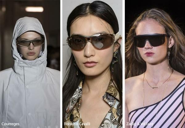 Designer Sonnenbrillen Trends Frühling Sommer 2019 sportliche Sonnenbrillen
