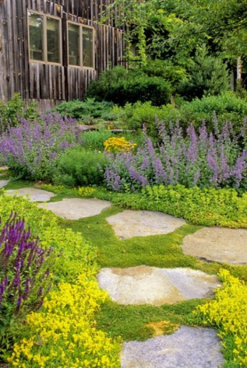 Gartenwege aus Stein Urban Gardening steht hoch im Kurs