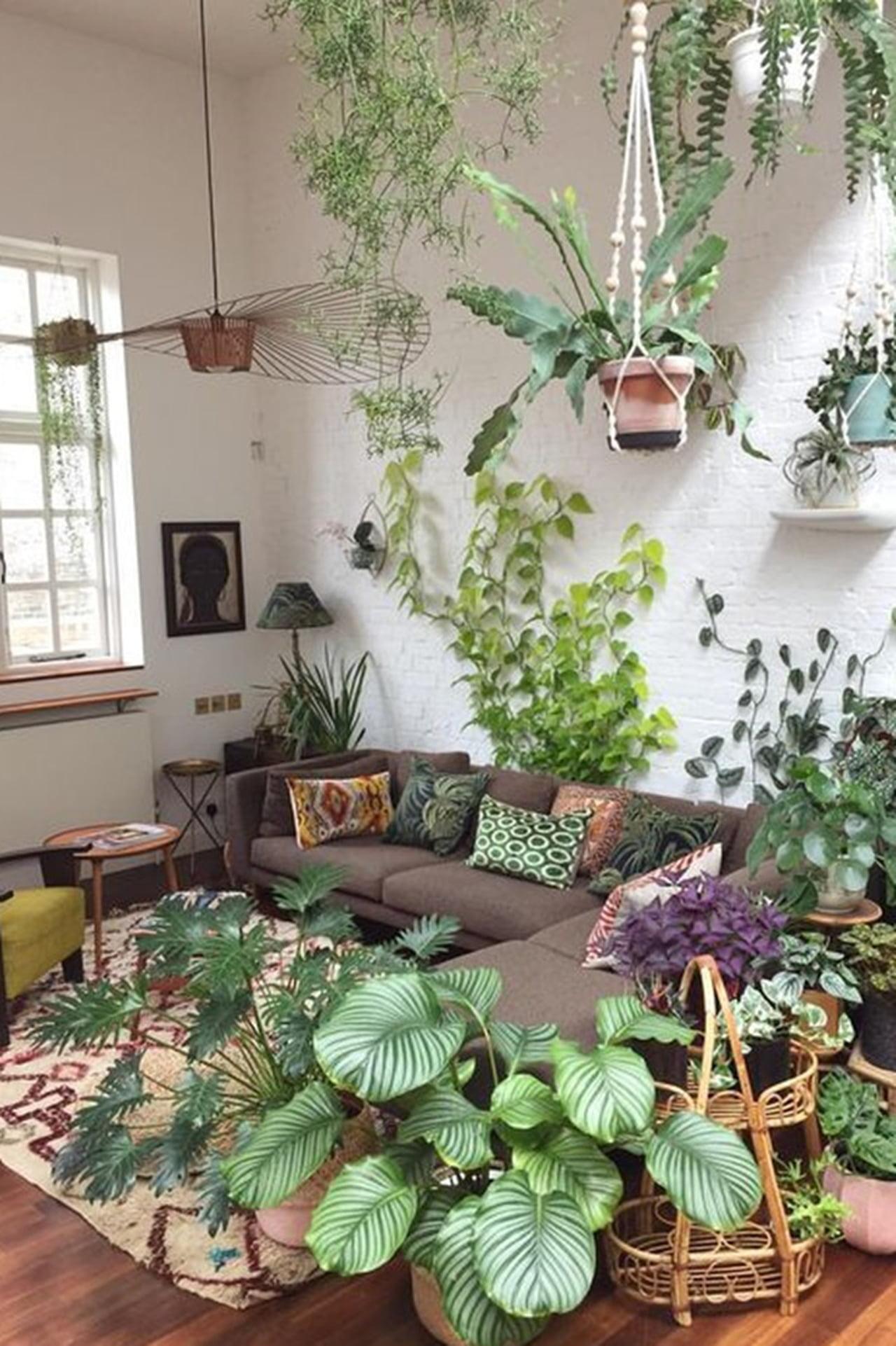 Grüne Wandgestaltung tolle grüne Inneneinrichtung