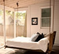Bequemes Hängebett für puren Relax und viel Komfort draußen