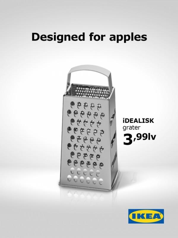 IKEA macht sich mit witziger Werbung über Apple Mac Pro lustig ikea werbung lustig