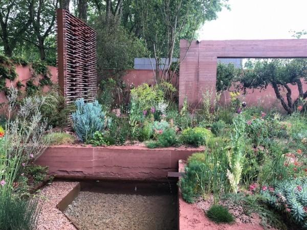 Idee mit Kupfer Gartengestaltung