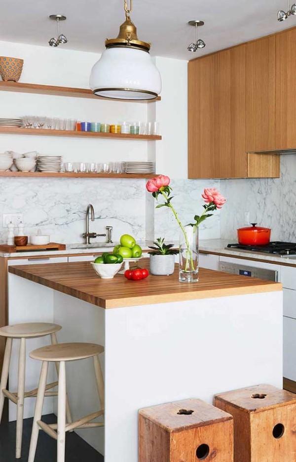 Küchentische - Design in zwei neutralen Farben