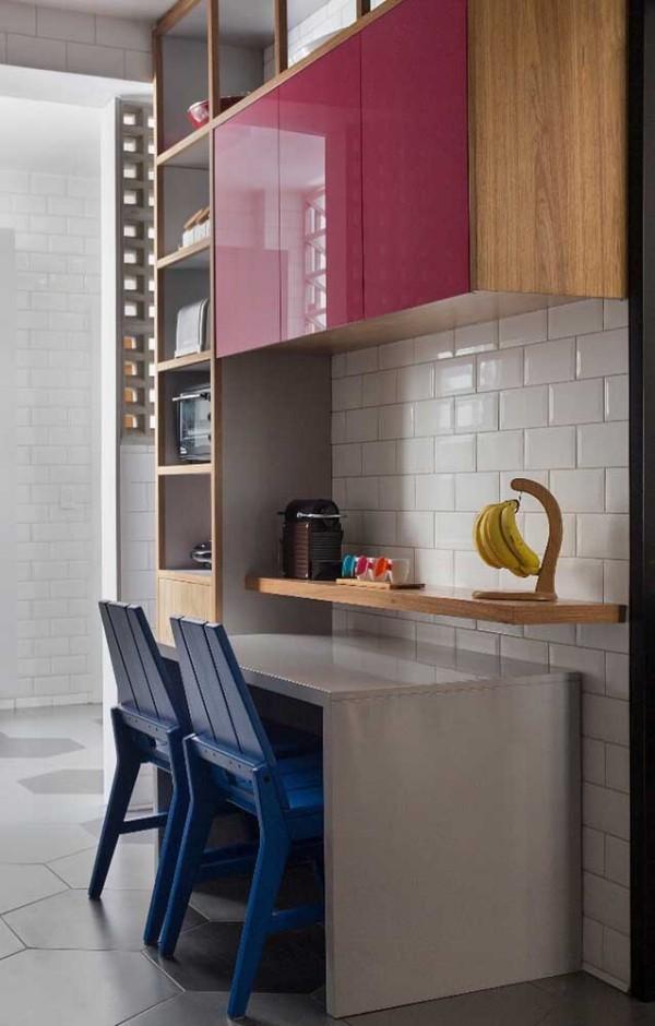Küchentische - Idee in einer grauen Farbe