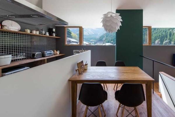 Küchentische Ideen mit Holz