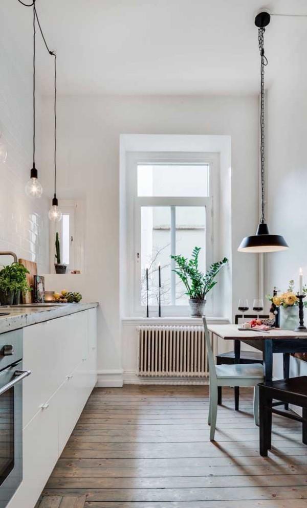 Küchentische Ideen mit schwarzer Farbe