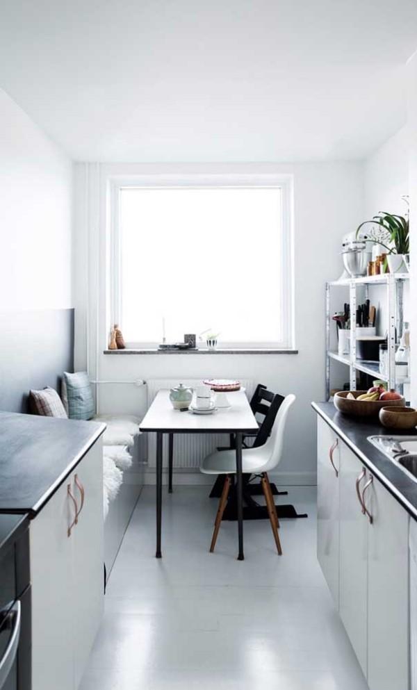 Küchentische - helle Raumgestaltung