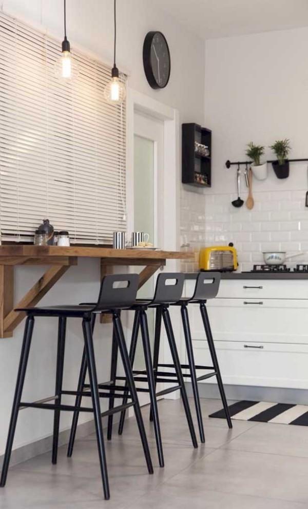 Küchentische - hoher Tisch - Barhocker