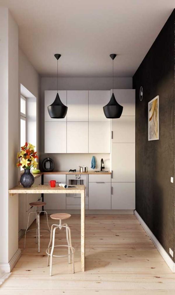 Küchentische - quadratische Form - Inspiration