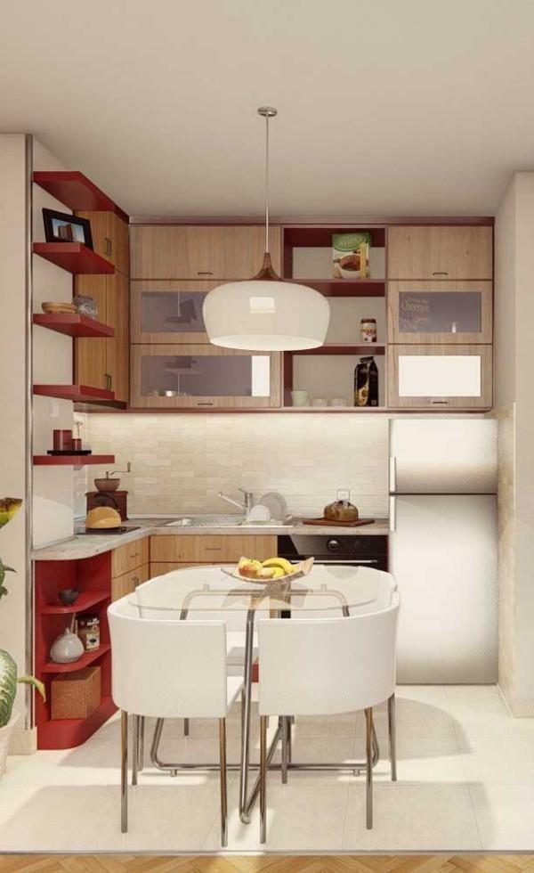 Küchentische - toll in Weiß und Rot