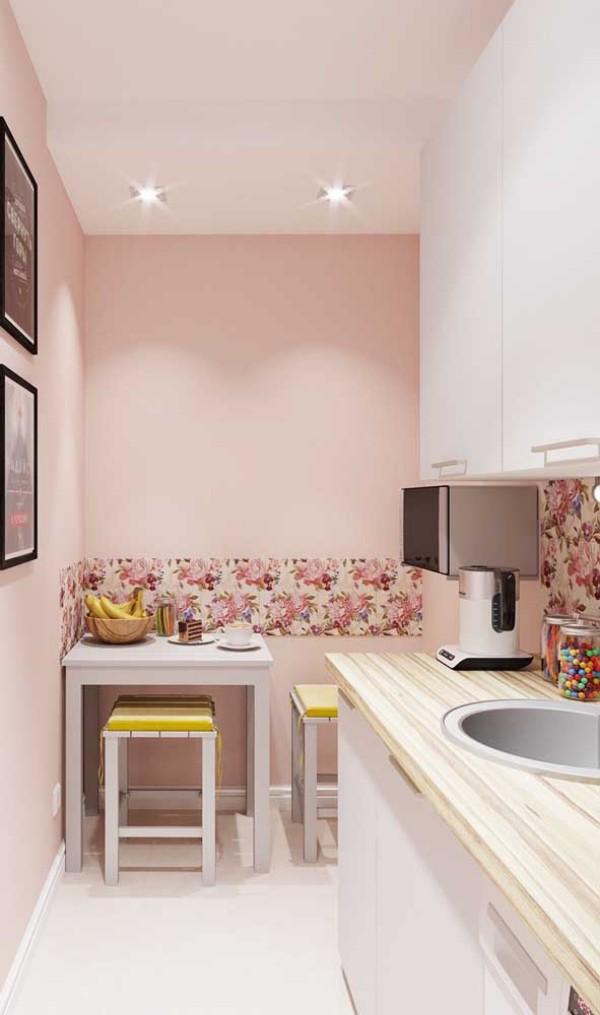 Küchentische - untergebracht in einer Ecke