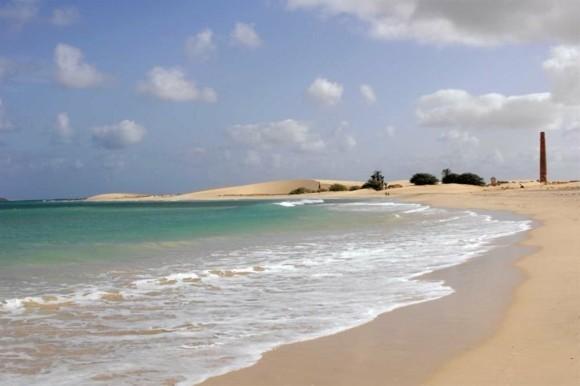 Kapverden Urlaub Kapverdische Inseln Boa Vista Strand Sand