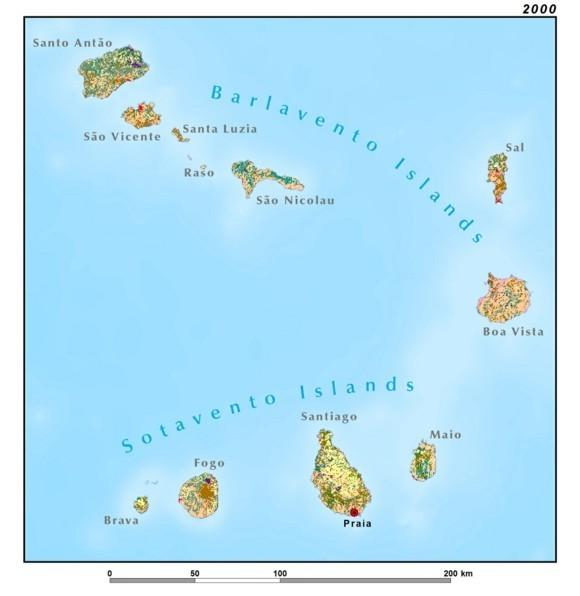 Kapverden Urlaub Kapverdische Inseln Landkarte