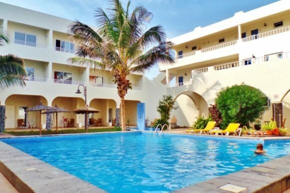 Kapverden Urlaub Kapverdische Inseln Santa Marina Insel Sal Hotel Pool