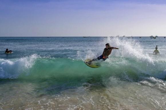Kapverden Urlaub Kapverdische Inseln Santa Marina Insel Sal Surfing