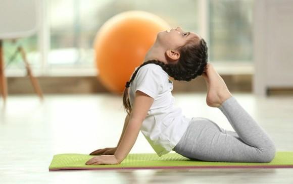 Kinderyoga Übungen gesundes Leben yoga Körperhaltung