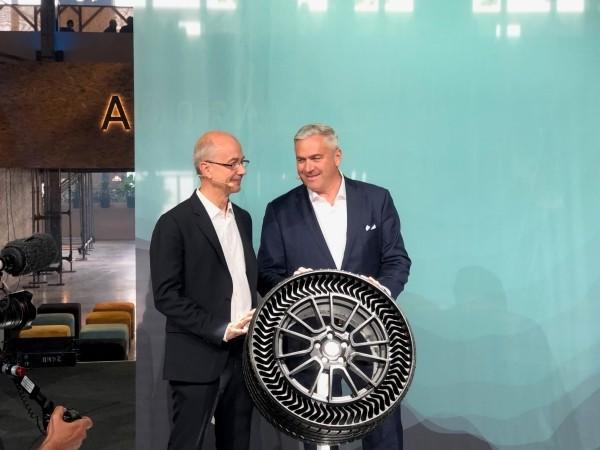 Michelin und General Motors entwickeln luftlose Reifen uptis vereinbarung zwischen zwei großen autoherstellern