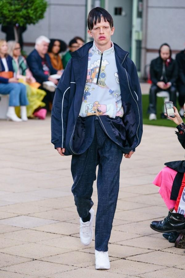 Modetrends - guter extravaganter Look