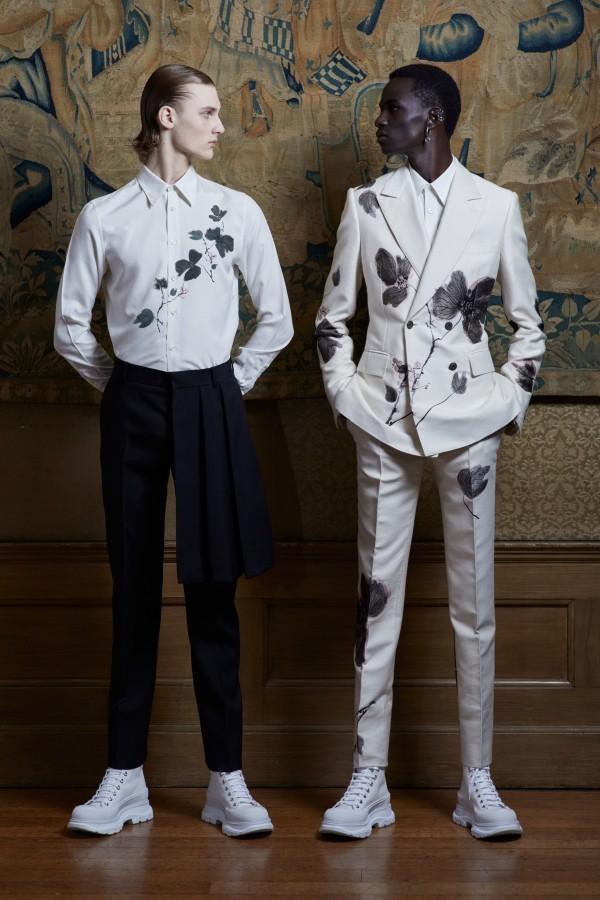 Modetrends tolle weiß schwarze Muster