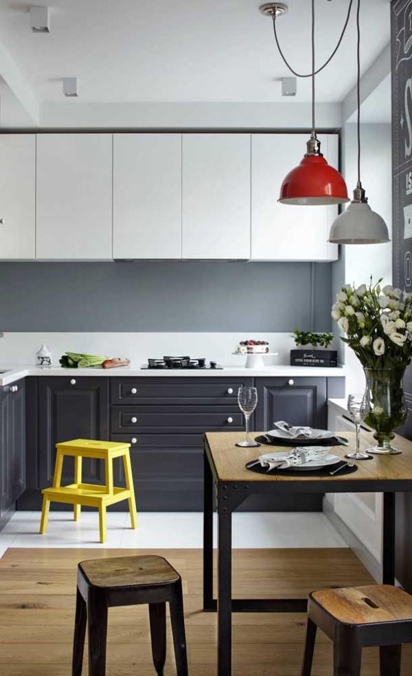 Qudaratische Inspiration für tolle Küchentische