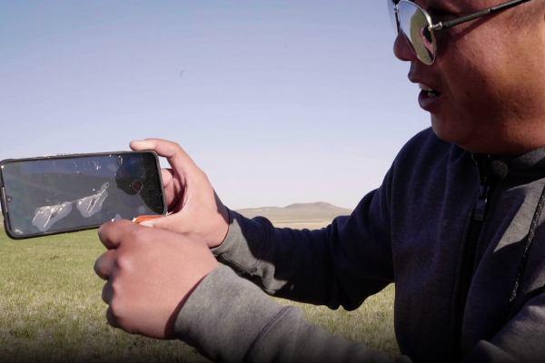 Smartphone übersteht ultimativen Falltest aus erstaunlichen 31.540 Metern iqoo von vivo gerinder schaden