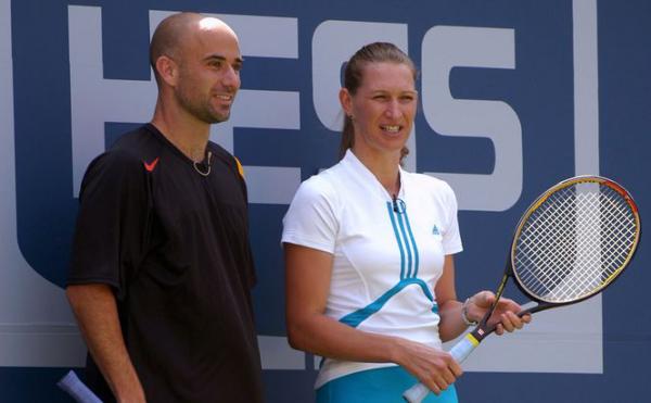 Steffi Graf 50.Geburtstag mit Andre Agassi seit 18 Jahren verheiratet