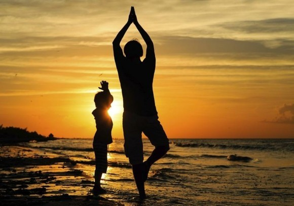 Surya Namaskar Yoga Sonnengruß Gruß an die Sonne