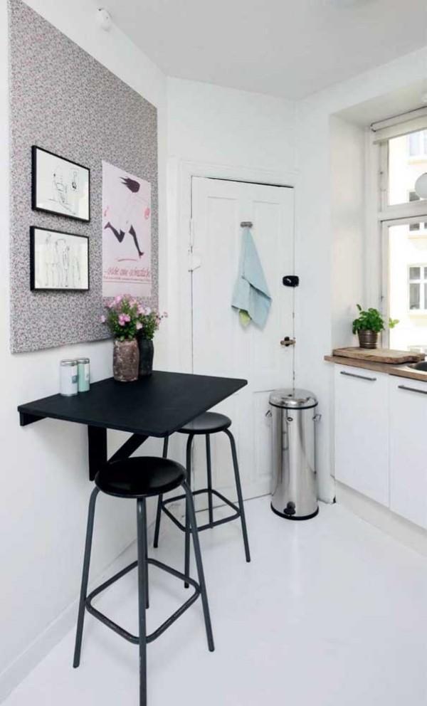Tolles schwarzes Design - Küchentische