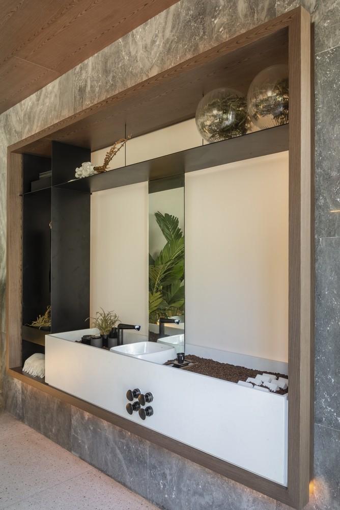 Traumhaus grün weiße Ideen fürs Bad