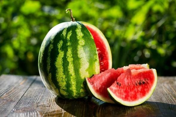 Wassermelone gesund Sommerfrucht Wassermelone Kalorien