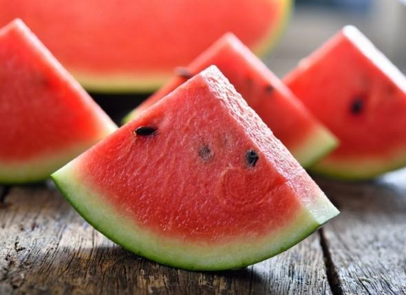 Wassermelone gesund Sommerfrucht Wassermelone Nährwerte