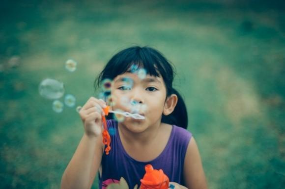 Yoga Atemübungen für Kinder tief atmen üben
