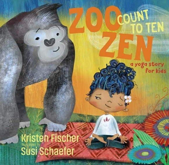 Zoo-Zen-Count-to-Ten-Kristen-Fischer Kinderyoga Übungen