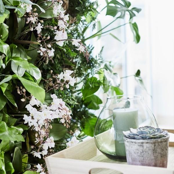 baumgestaltung mit weißen blüten wohnideen