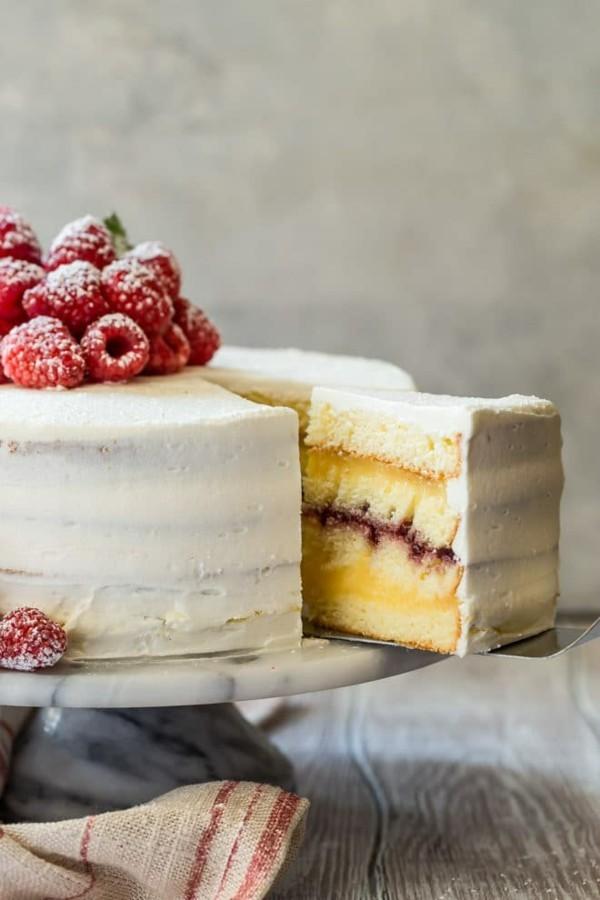dänische himbeertorte layer cake