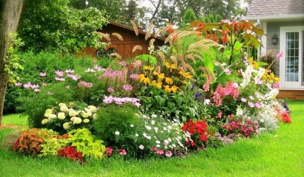 gartengestaltung pflanzenbeete ideen