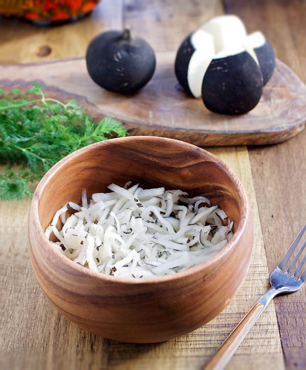 gemüse fermentieren schwarze rettiche