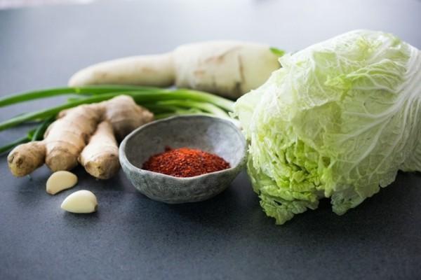 gesunde zutaten kimchi fermentieren