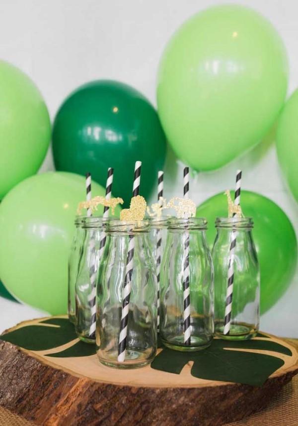 getränke und balloons kindergeburtstag