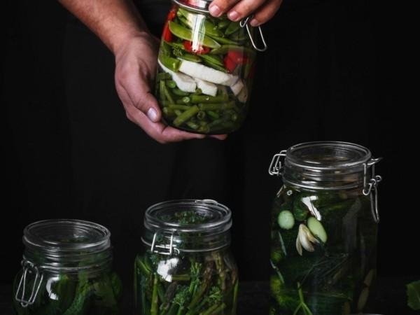 grüne bohnen fermentieren