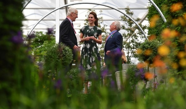 kate middleton auf der chelsea flower show 2019