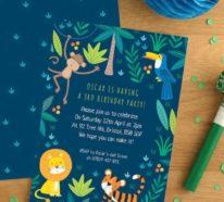 Schritt für Schritt zur perfekten Dschungelparty für Kinder