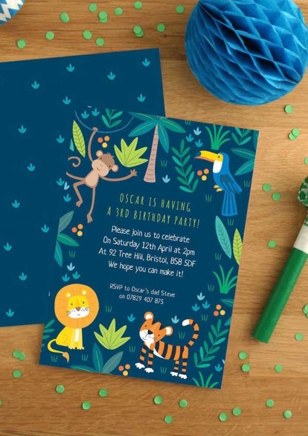 kindergeburtstag - begrüßungskarten für kinder