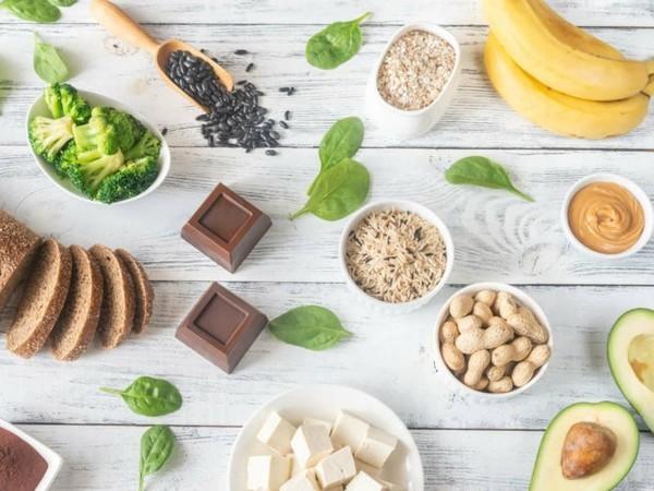 magnesiumhaltige lebensmittel dunkler reis brokkoli tofu