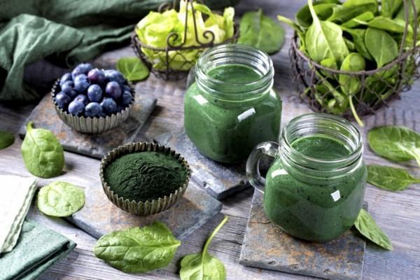 grüne smoothies magnesiumhaltige lebensmittel