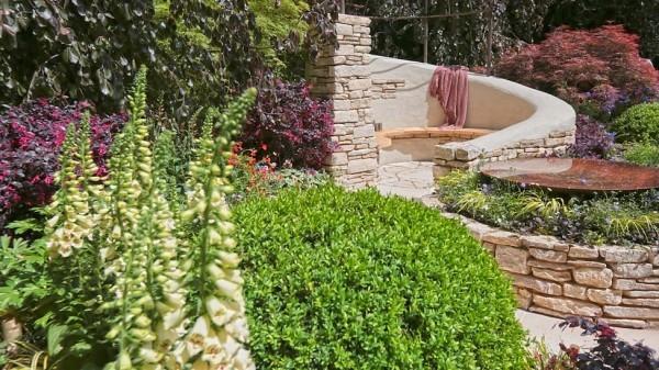 mehrere tollen Beeten fuer die Gartengestaltung