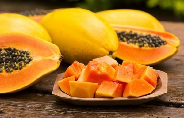 papaya gut gegen gicht