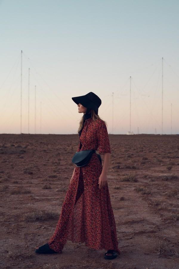 rote Insoiration für die Damenkleider